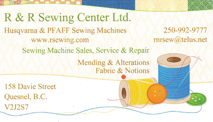 R&R Sewing Centre