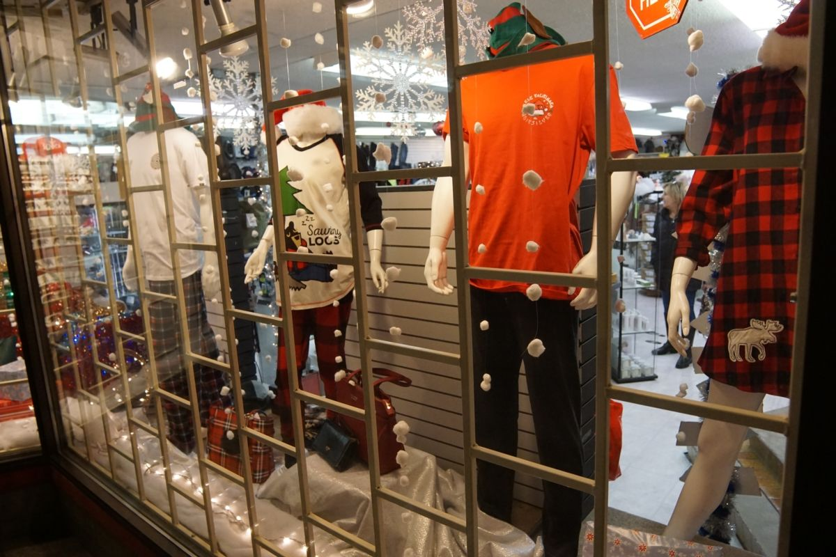Christmas Windows - The Outlaw Clothing